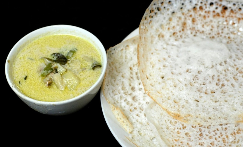Best famous delicacies of kerala kerala tourism for Appam and chicken stew kerala cuisine